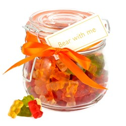 Bear With Me Sweets | Jar of Gummy Bears