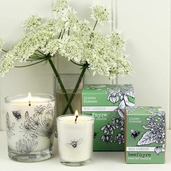 Bee Garden Linden Lime Blossom Candle | Bright and Exhilarating