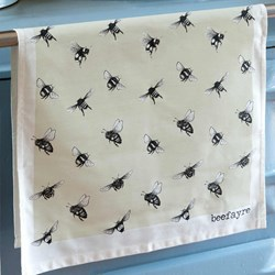 Bee Print Tea Towel | Inspired by Honey Bees
