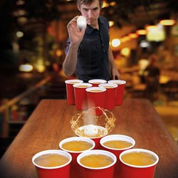 Beer Pong XXL | The GIANT Drinking Game!