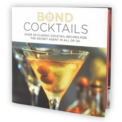Bond Cocktails Book | Shaken or Stirred?