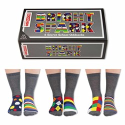 Bright Spark Children's Odd Socks | Three Boy's Pairs