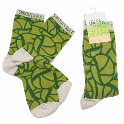 Brussel Sprouts Socks | A Festive Feast on your Feet!
