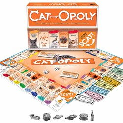 Cat-Opoly Board Game | Monopoly with Cats