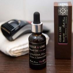 Cedar & Lime Beard Oil
