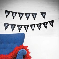 Chalkboard Bunting | Pretty Party Essentials!