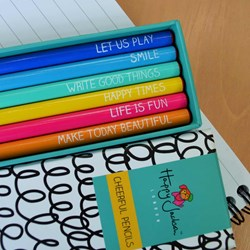 Cheerful Pencils Set | Happy Jackson Collection