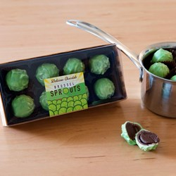 Chocolate Brussels Sprouts | Oh Yes...We're Being Serious!