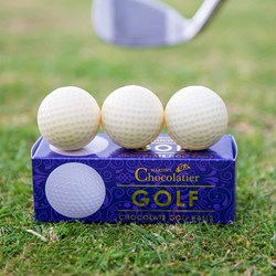 Chocolate Golf Balls | Enjoy With a Cup of Tee!