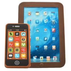 Chocolate iPad and iPhone Set