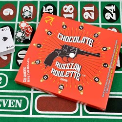 Chocolate Russian Roulette Game | Bite The Bullet Game