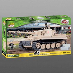 Cobi Tiger 131 Model Tank - Tank Museum Edition