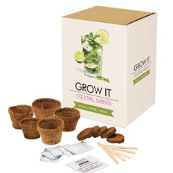 Cocktail Garden Grow It Kit | From Garden to Glass