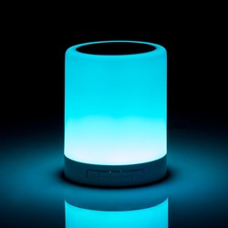 Colour Changing Bluetooth Speaker | With Touch Lamp!