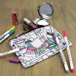 Colour in Make-Up Bag | Includes 5 Pens