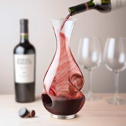 Conundrum Wine Decanter | Aerate as you pour in and out!