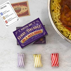 Curry Takeaway Matchbox