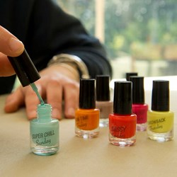 Days of the Week Scented Nail Polish