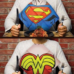 DC Comics Superhero Dress Up Napkins | Four Designs