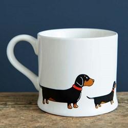 Delightful Dachshund Mug | Pooch Pottery!
