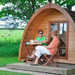 Devon Glamping Break For Two | With Hot Tub & Sauna