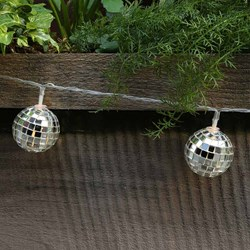 Disco Ball String Lights | Glitterball LEDs