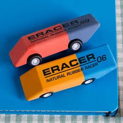 E-Racers Pull Back Racing Erasers | Car E-racers