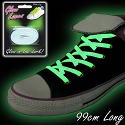 Green Glow In The Dark Laces | Luminous Green
