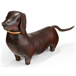 Handmade Leather Dachshund-Standard | 28 inches long