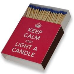 Keep Calm Giant Matches