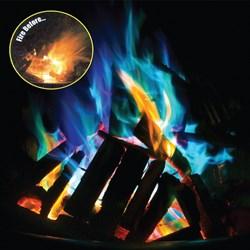 Magic Dust to create Coloured Flames - Mystical Fire   Set of Ten Sachets