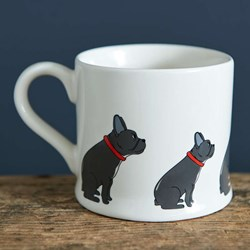 Fancy French Bulldog Mug | Pooch Pottery!