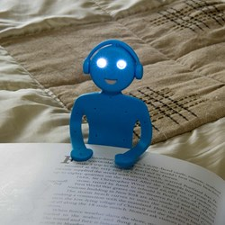 Flat Man Book Light | Phone Stand and a Booklight!