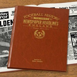 Personalised Football History Book - Countries