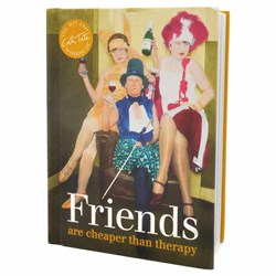 Friends Are Cheaper Than Therapy Book