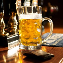 Giant Beer Stein Glass | 1 Litre