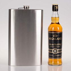 Giant Hip Flask | 1.7 Litre Capacity!