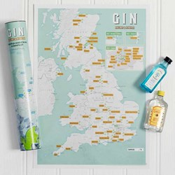 Great British Gin Map