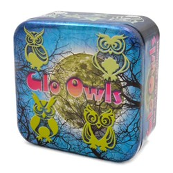 Glow in the Dark Glo Owls | 42 Assorted Owls & Stars
