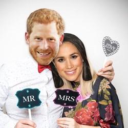 Harry and Meghan Royal Wedding Face Masks