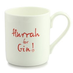 Hurrah For Gin Mug