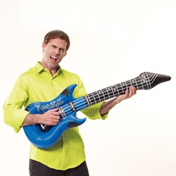 Inflatable Guitar with Sound Effects | Air Guitar Time!