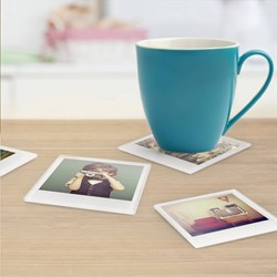 Instant Coasters Set of 4 | Photo Coasters