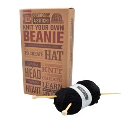 Knit Your Own Beanie Kit | It's Trendy to Knit