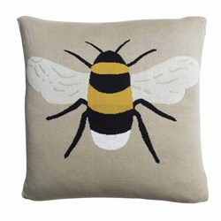 Sophie Allport Big Bee Soft Knitted Cushion