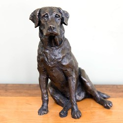 Labrador Bronze Sculpture | By Charlie Smith