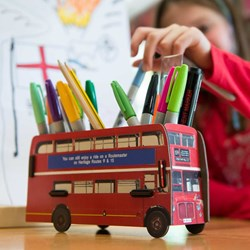 London Bus Pen Box | Build Your Own!