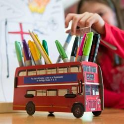 London Bus Pen Box | Build Your Own!