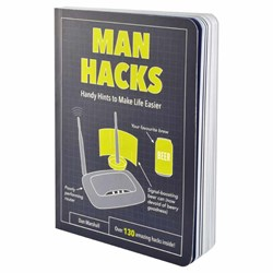Man Hacks Book | Life Hacks for Man Stuff