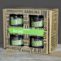 Manfood Beer Jelly Gift Box | Four Punchy Beer Inspired Jams
